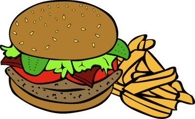 Cheeseburger clipart burger chip, Cheeseburger burger chip Transparent FREE  for download on WebStockReview 2020